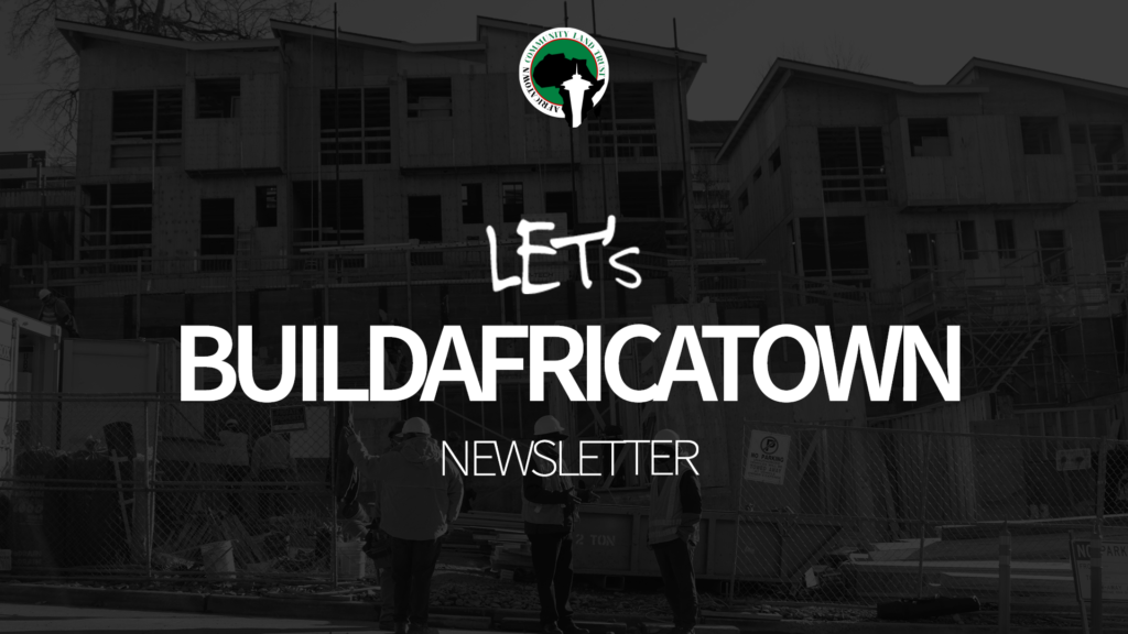 #letsbuildafricatowntogether